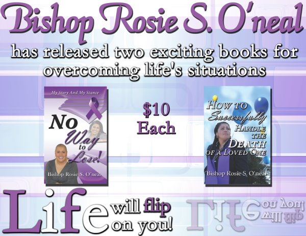 Bishop Rosie Oneal, author