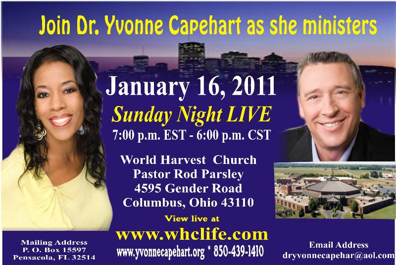 Yvonne Capehart and Rod Parsley