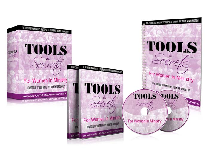 Tools and Secrets For Women In Ministry!