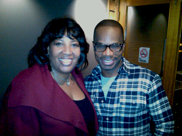 Evg. Riley and Kirk Franklin
